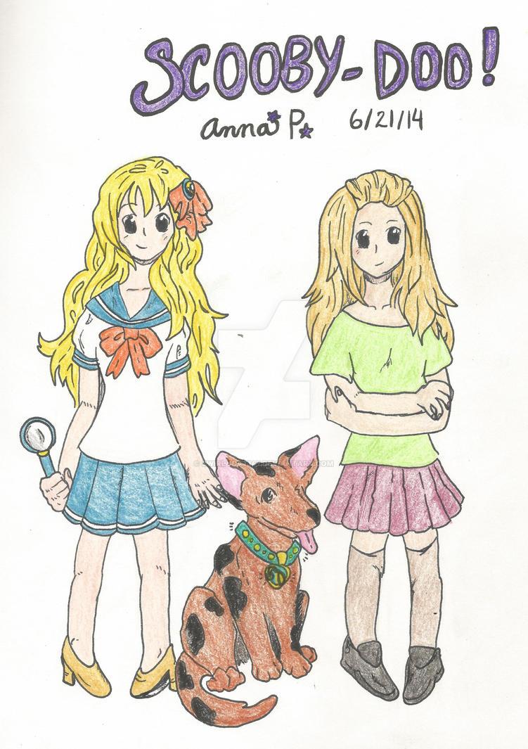 Scooby Doo Gender Swap for Day 4 by SwirlyCat147