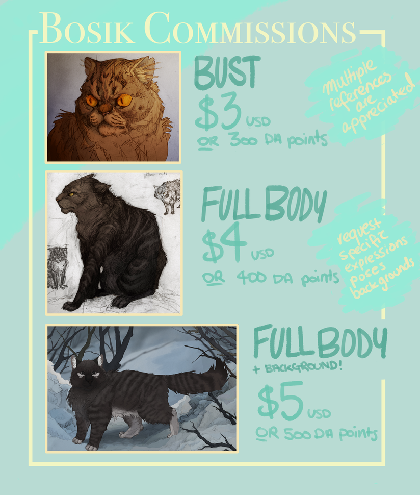 Commissions Info by Boisk