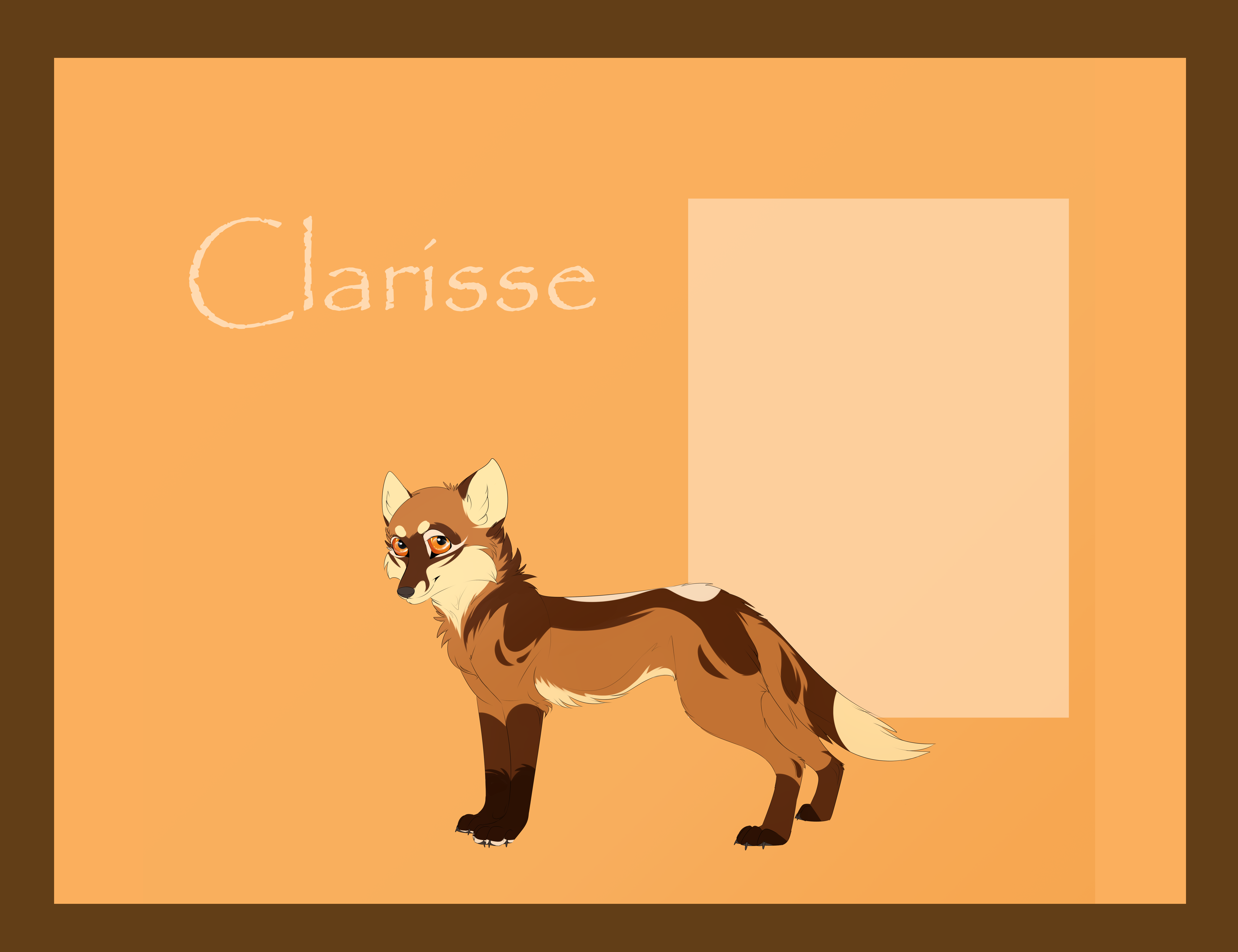 Design Commission +Clarisse+ by Feline-Kat