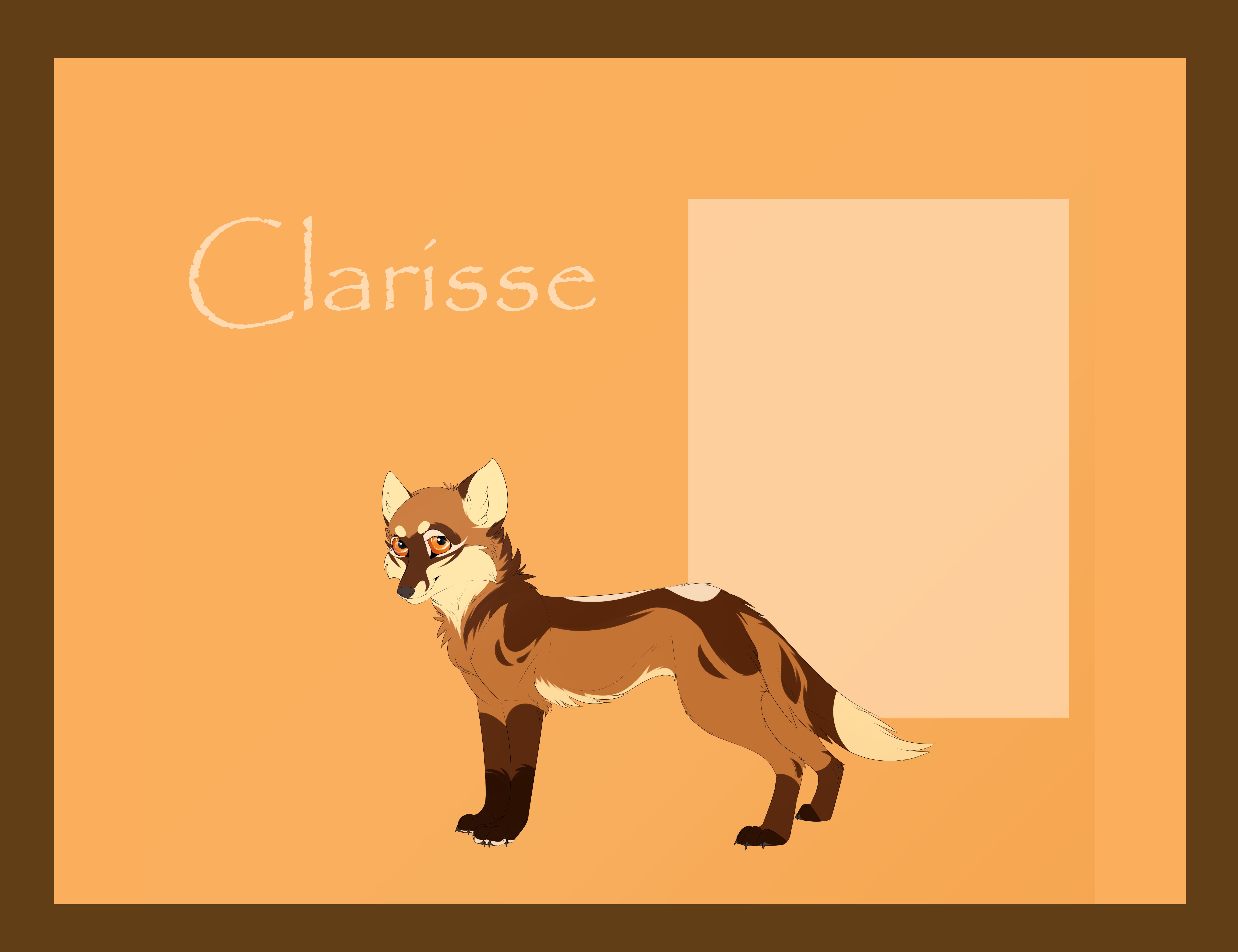Design Commission +Clarisse+ by Feline-Kat