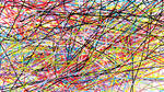 random coloured lines by Michaela-DelphineFAN