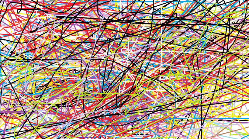 By Art Lines : Random coloured lines by michaela delphinefan on deviantart