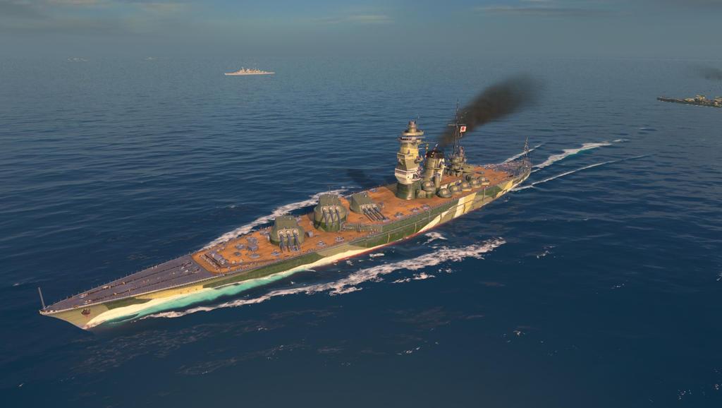 IJN Izumo at sea by 62guy