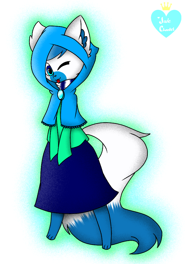 Little Blue Ridding Hood (Gift) by JadeChantel