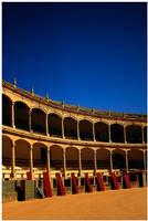 Plaza de toros de Ronda by GreenEyedHarpy