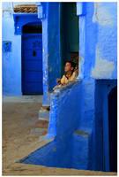 The Blue City by GreenEyedHarpy