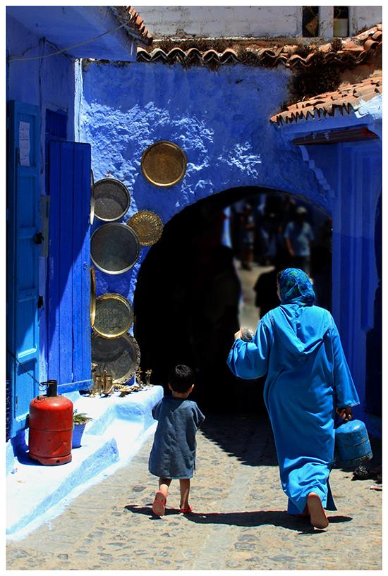 The Blue City II by GreenEyedHarpy