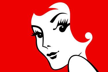 Miss Redhead by Damienne Bingham