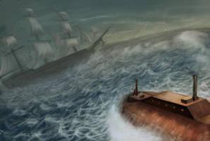 The Nautilus Attacks by silentillusion