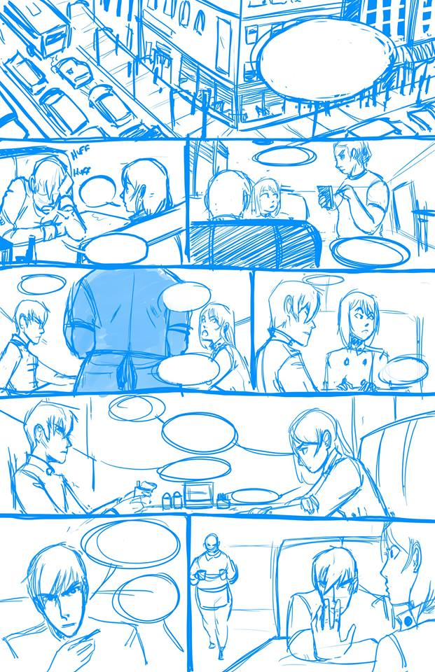 Centralia 2050 Issue 1 WIP by silentillusion