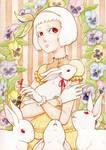White Rabbit Girl
