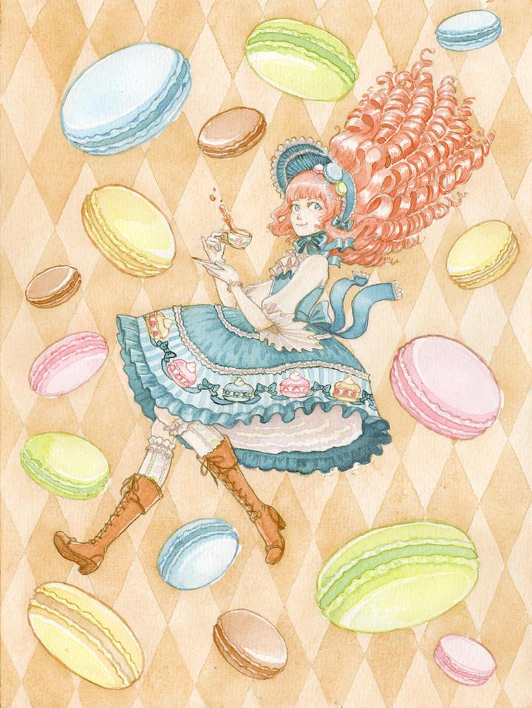 Sweet Macaron Lolita by silentillusion