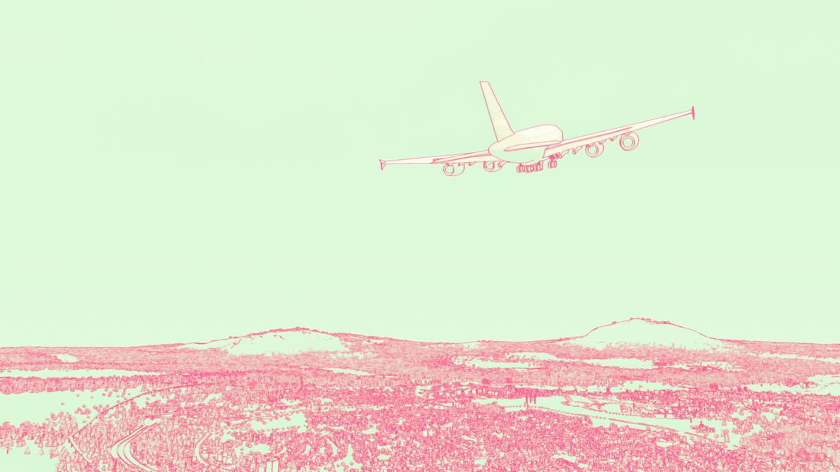 Cherry Town Air by amoebae