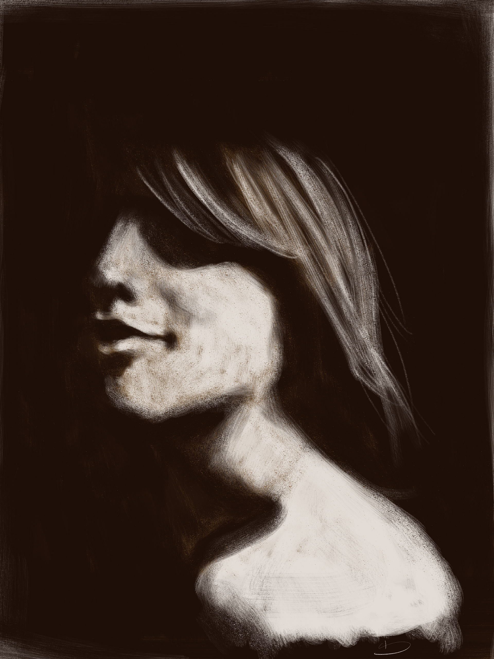 High Contrast Study 1 By Amoebae On Deviantart