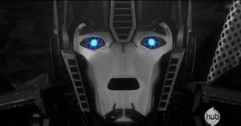 Optimus Prime screenshot- ps by me by VladimirVampier