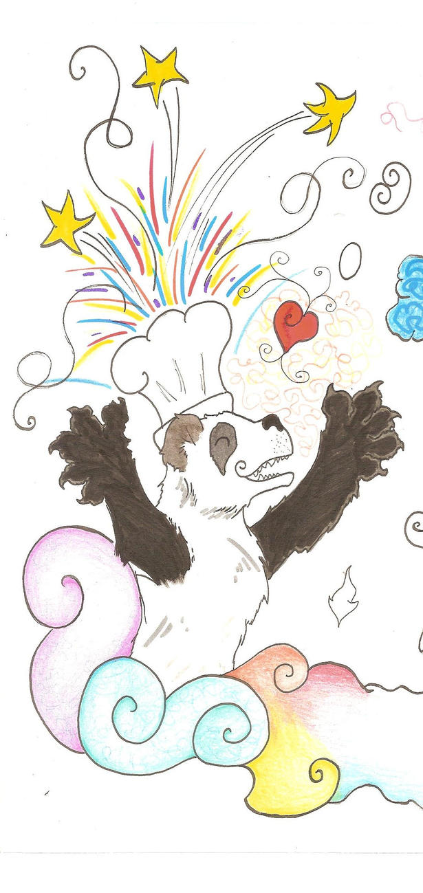 chef panda by panda-odono