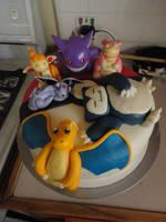 pokemon cake.... by panda-odono