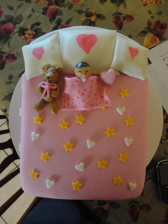 bad baby shower cake by panda-odono