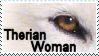 Therian Woman Stamp by Therian-Club