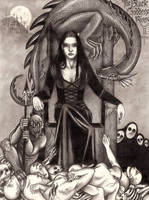The Black Goddess Rises II by Wild-Huntress
