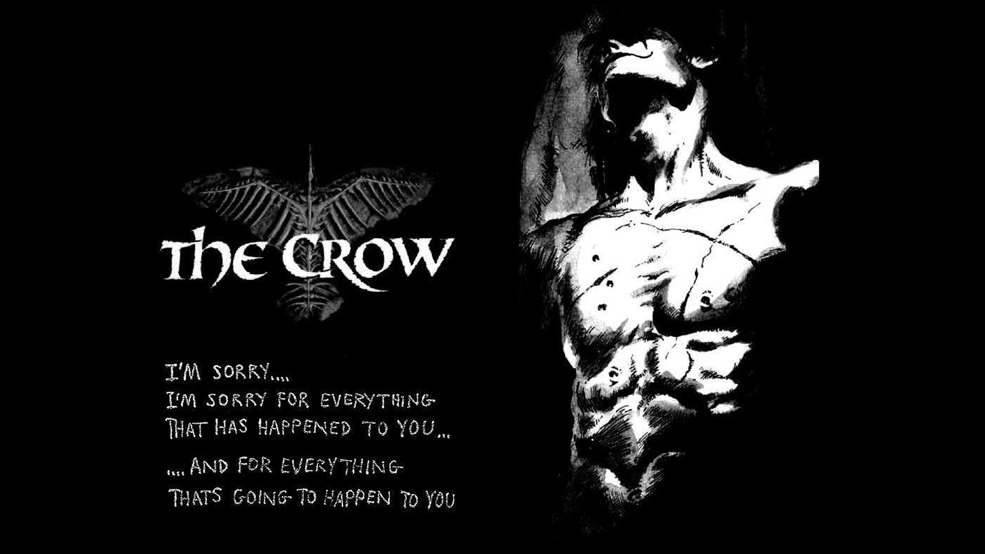 The crow wallpaper by wild huntress on deviantart - The crow wallpaper ...