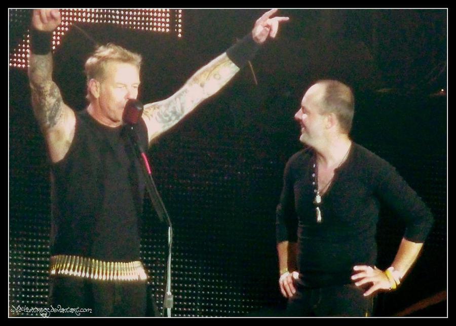 Metallica - Stade de France 2012 by Wild-Huntress