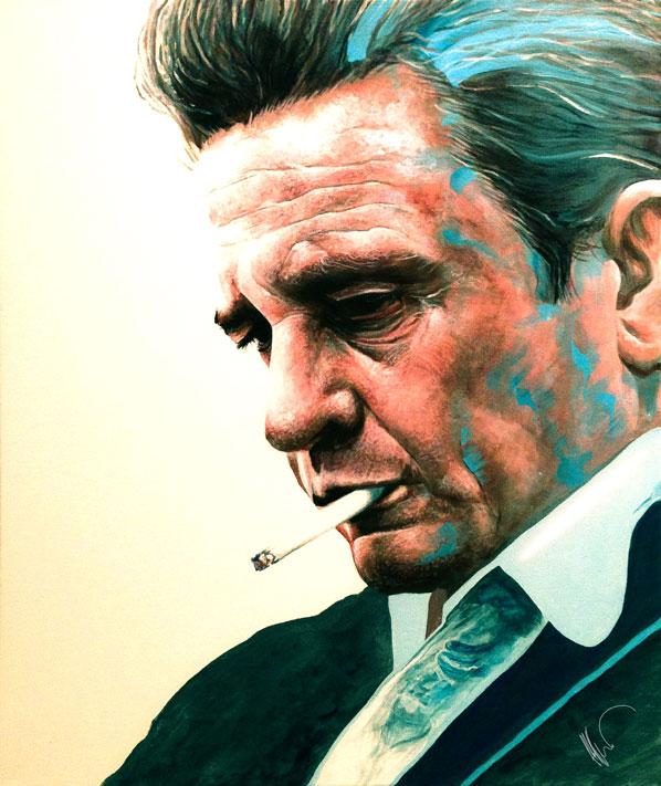 Johnny Cash by Flashback33