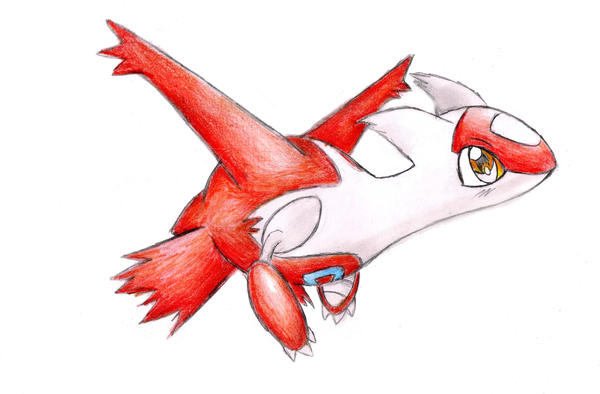 Baby Latias Latias by shiroiwolf