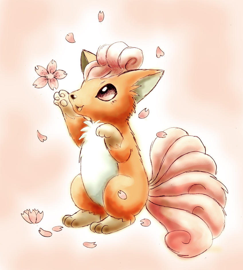 Vulpix by shiroiwolf