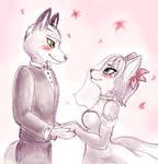 Fox+Krystal wedding
