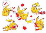 Pikachu+ketchup :3