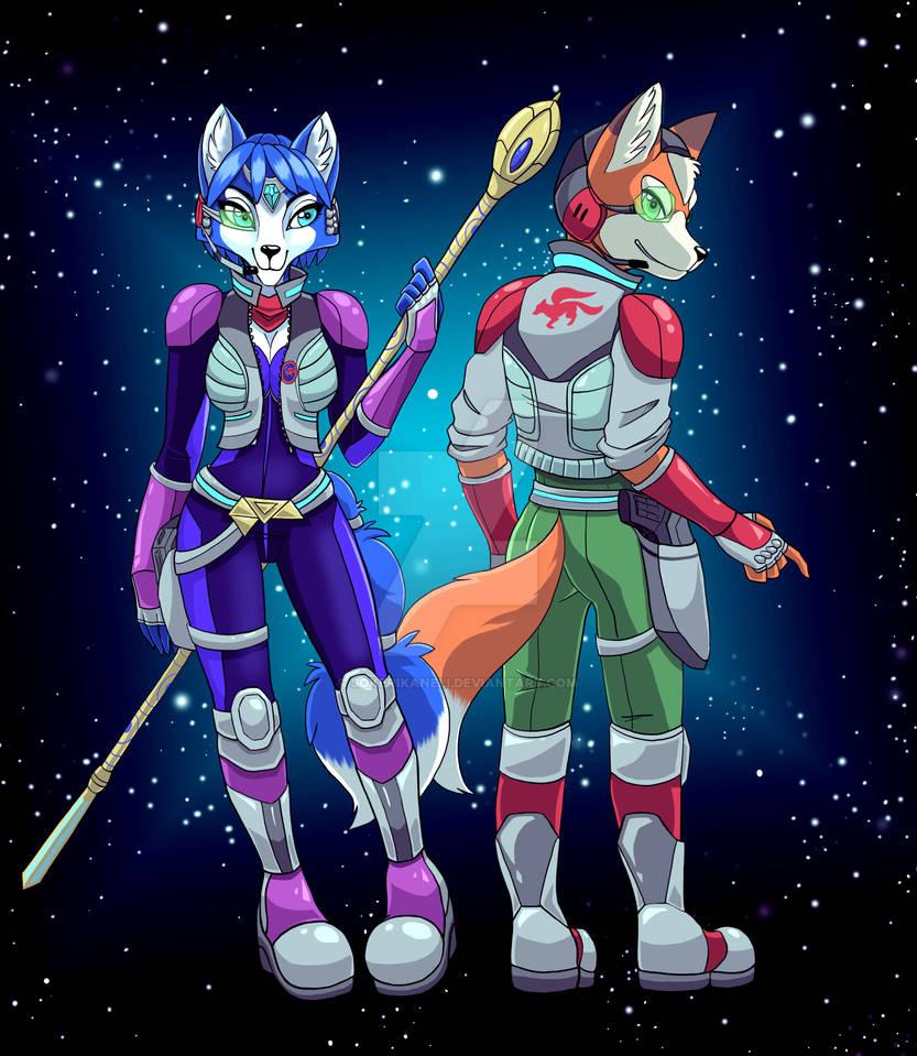 COMMISSION: Fox+Krystal