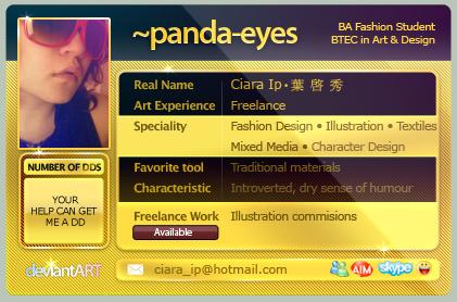 panda-eyes's Profile Picture