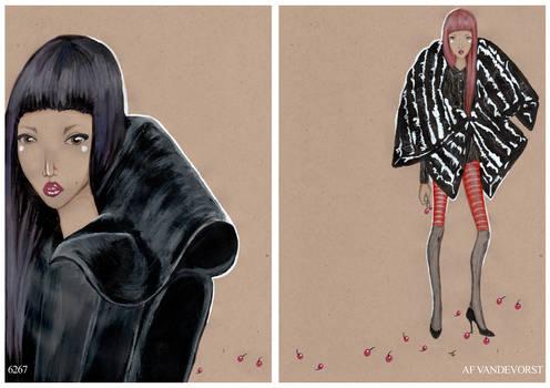 Cherry Noir - three.