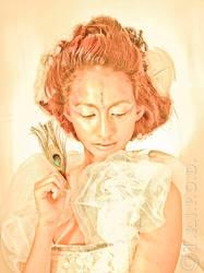 The sun goddess by Peszymer