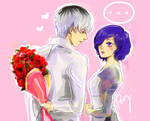 Roses for Touka-chan