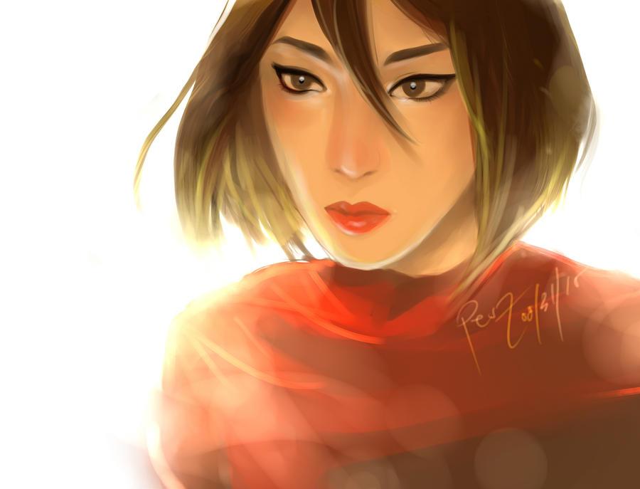 Mikasa by Peszymer
