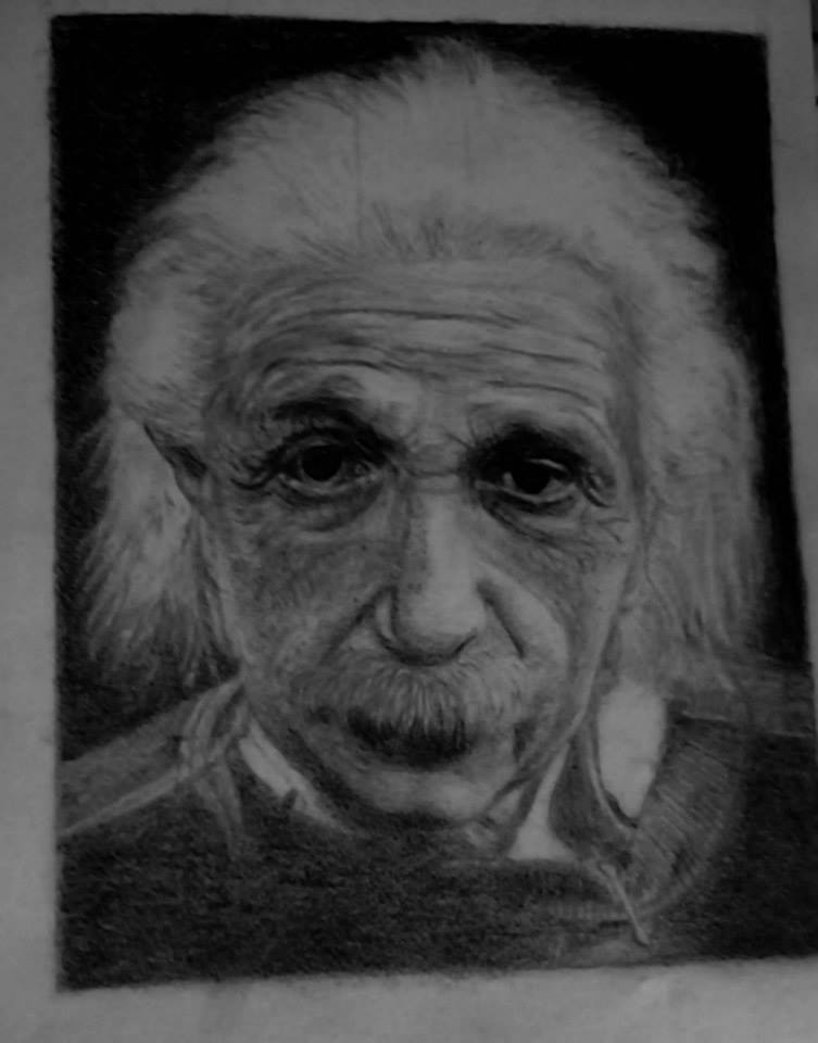 Albert Einstein by Valentyn4
