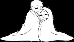 P2U Sleepy Couple Base