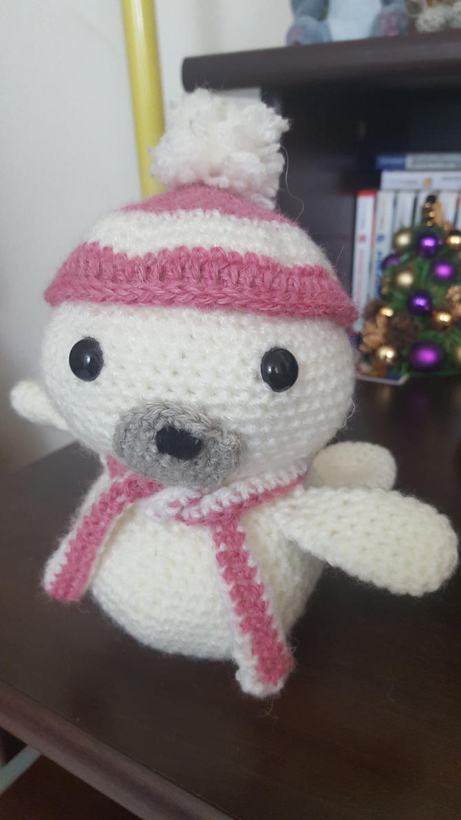 Amigurumi Sammy The Seal : Knitting-and-Crochet DeviantArt