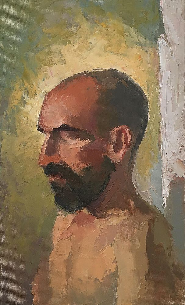 Alon - oil on board by boepil