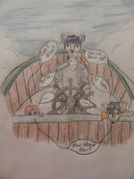Pirate101 Doodle by ZombieHunterArt
