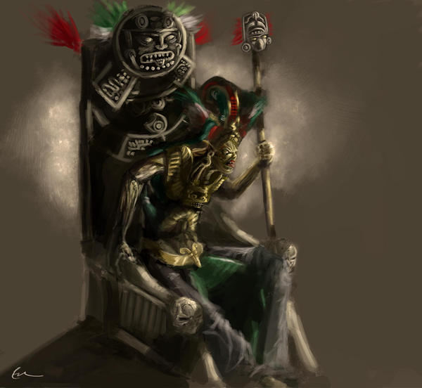 the aztec king