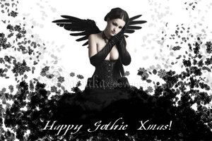 Happy Gothic Xtmas - malenkax by The-Dark-Arts