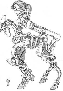 Centaur Power Suit Concept
