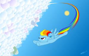 Rainbow Dash by hyhlion