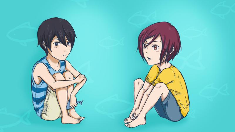 Haru~Rin by xRAMENPandAx