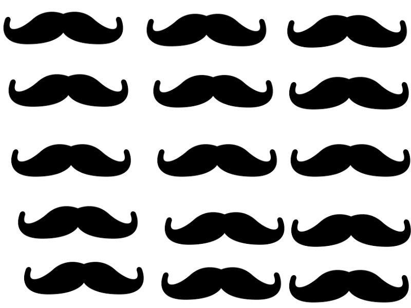 mustache wallpaper by heyitsella on