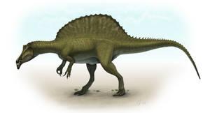 Spinosaurus by Olorotitan