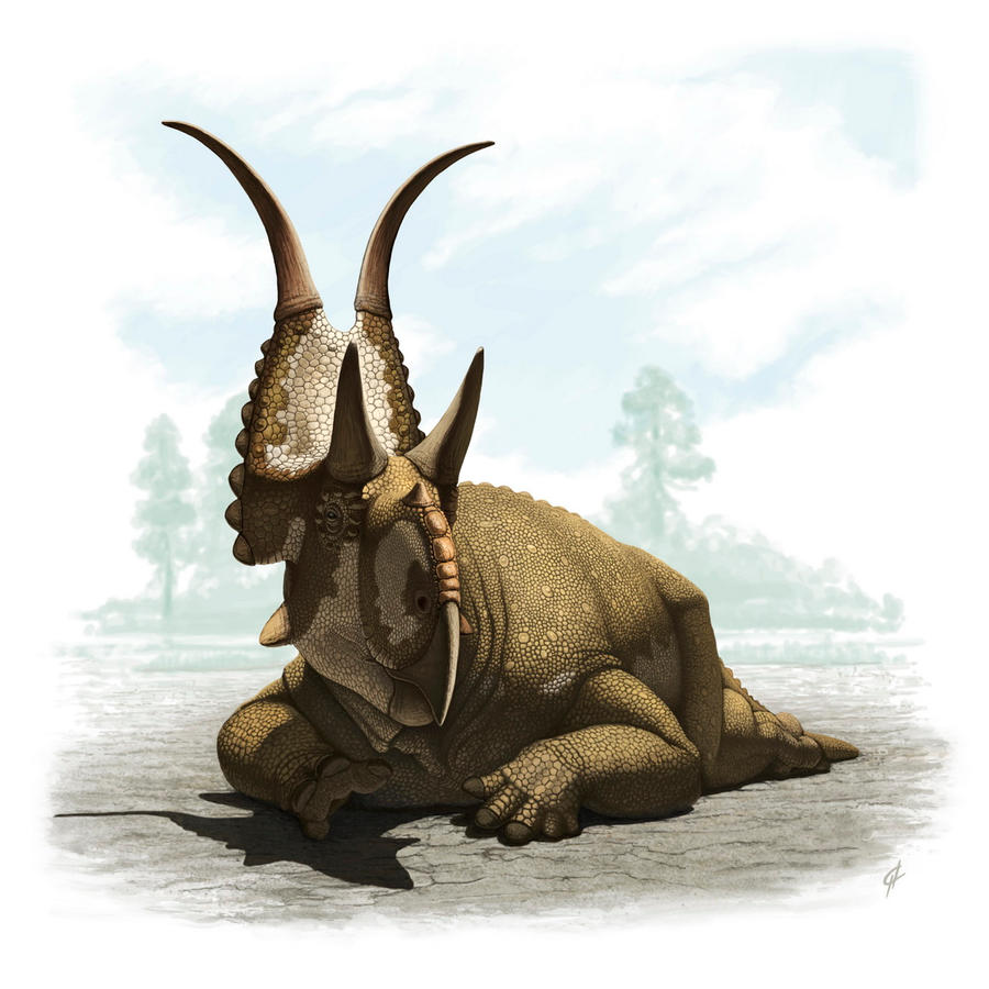 Diabloceratops by Olorotitan